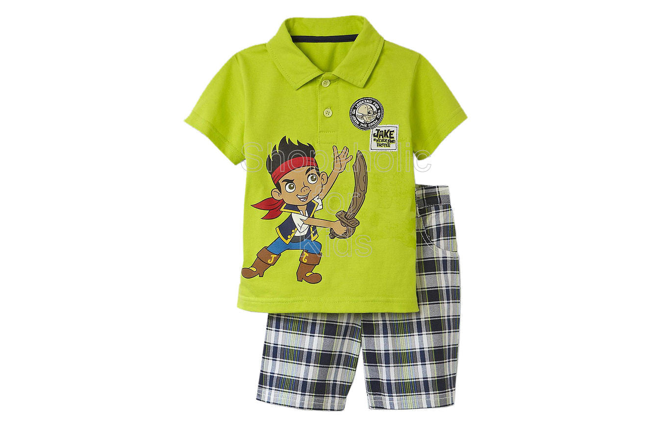 Jake & the Neverland Pirates Shorts Set - Green