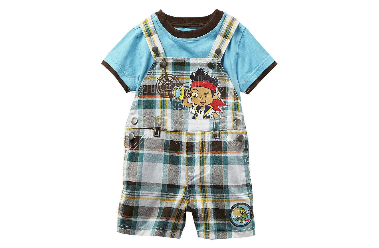Jake & the Neverland Pirates Overalls Set