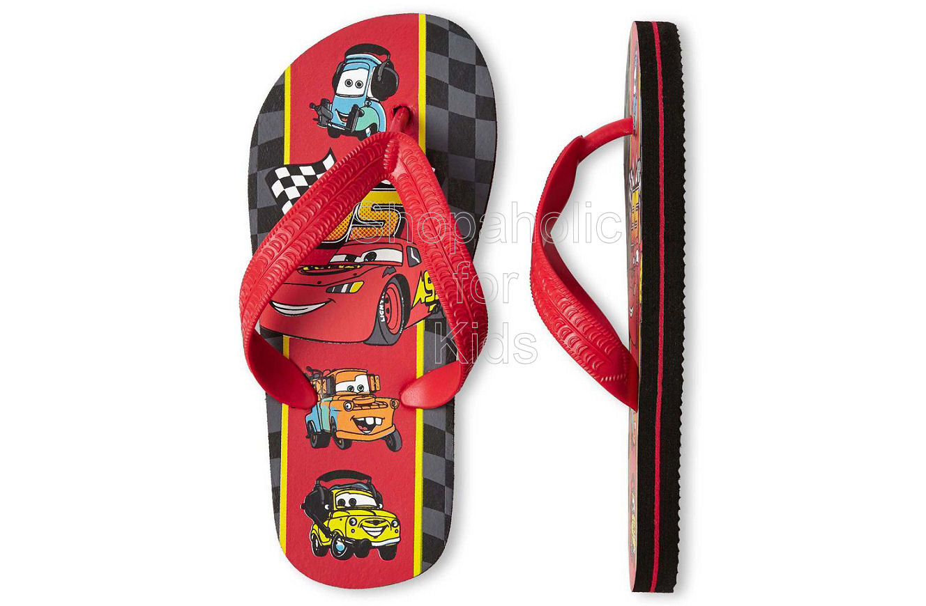 Disney Cars Flip Flops - Boys - Shopaholic for Kids