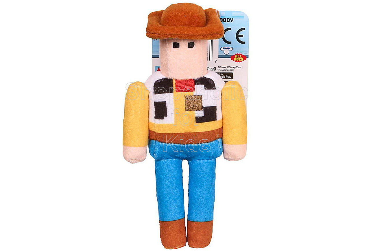 Disney Crossy Road Series 1 Stuffed Figures Woody 6 inches - Shopaholic for Kids
