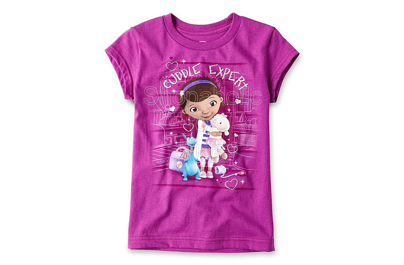 Disney Doc McStuffins Graphic Tee - Girls Purple - Shopaholic for Kids