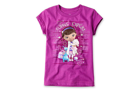 Disney Doc McStuffins Graphic Tee - Girls Purple