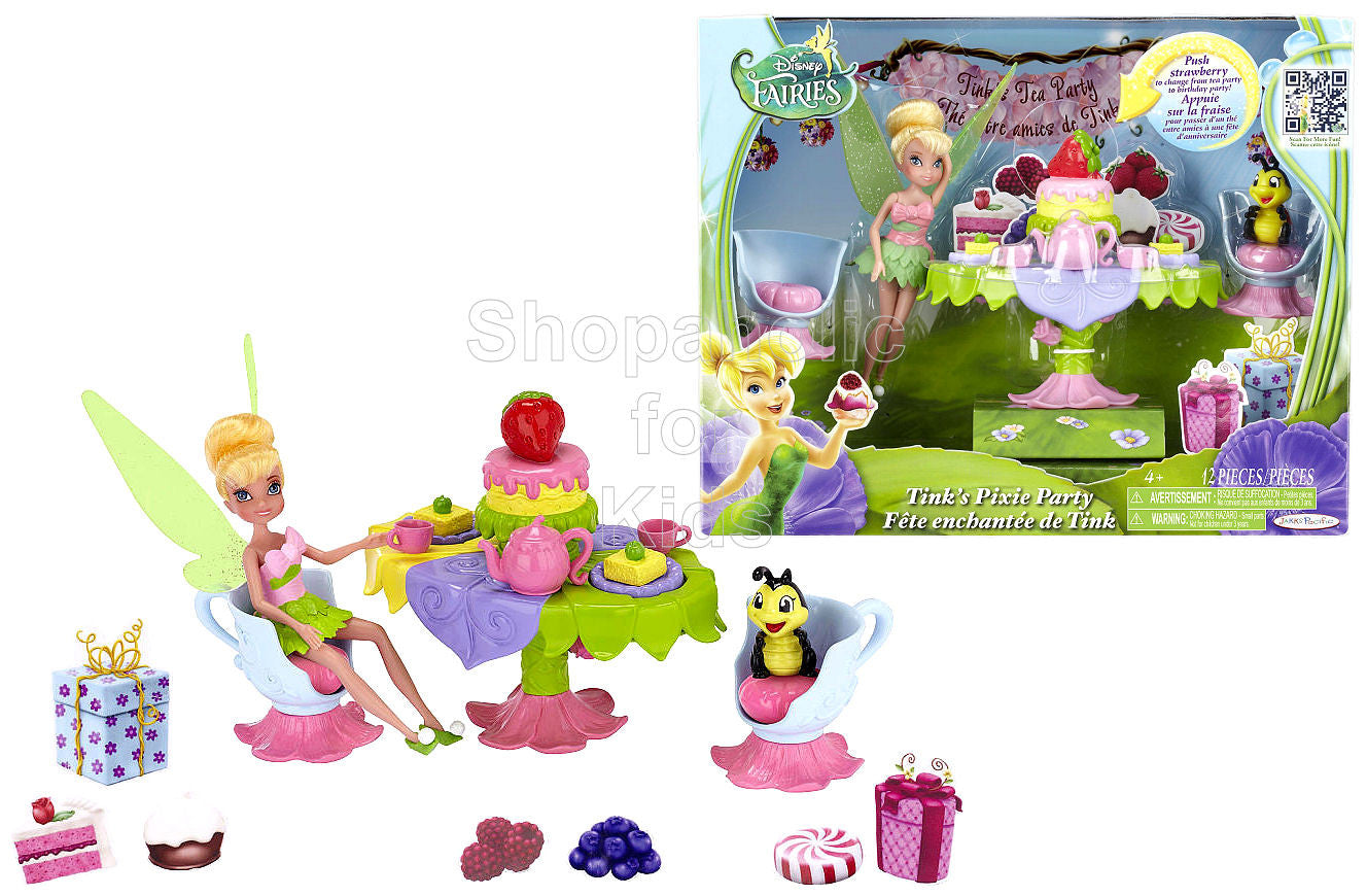 Disney Fairies Tinker Bell - Tink's Pixie Party - Shopaholic for Kids