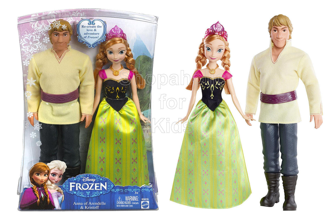 Disney Frozen - Anna of Arendelle and Kristoff 2-Pack - Shopaholic for Kids