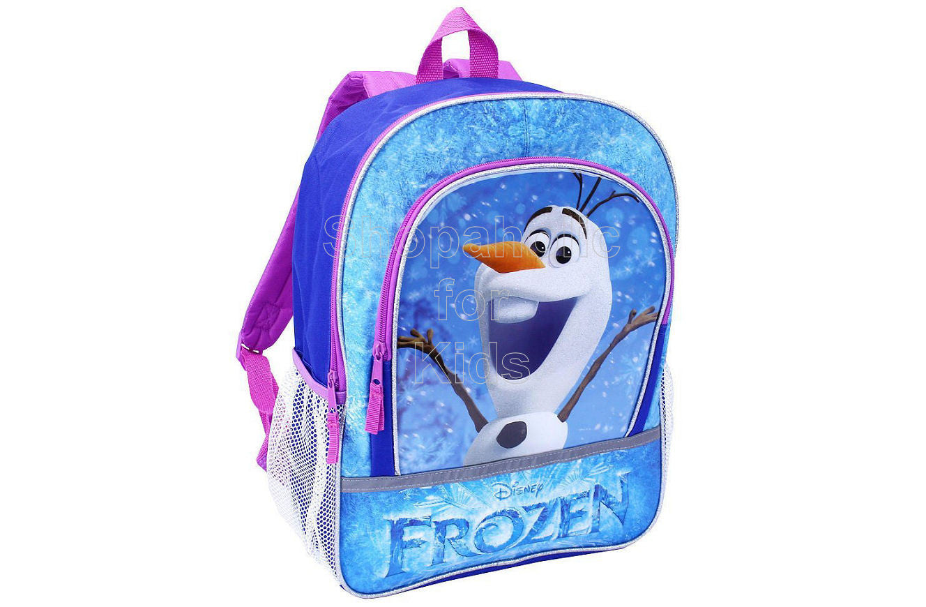 Disney Frozen 16 Inch Backpack - Olaf - Shopaholic for Kids