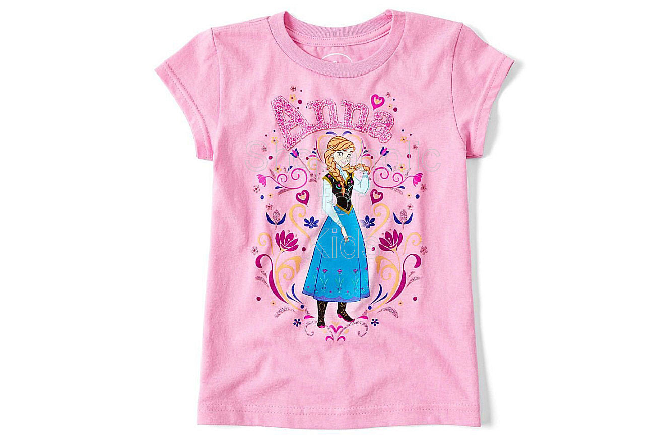 Disney Frozen Anna Graphic Tee - Shopaholic for Kids