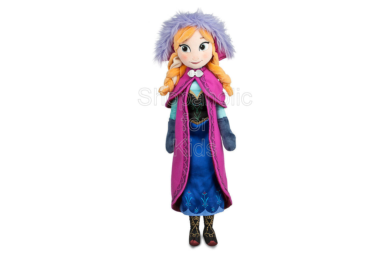 Frozen - Anna Plush Doll - Shopaholic for Kids