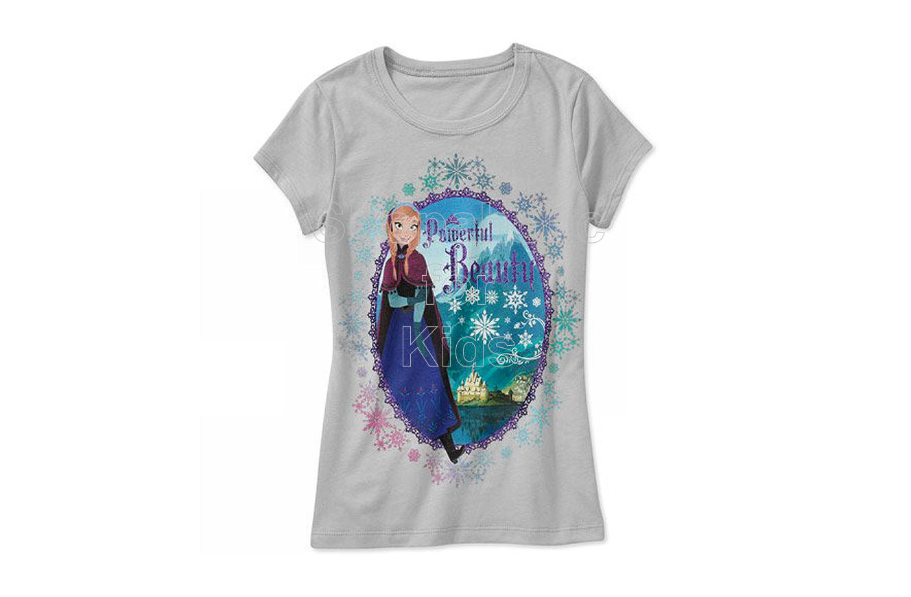 Disney Frozen Anna Powerful Tee - Shopaholic for Kids