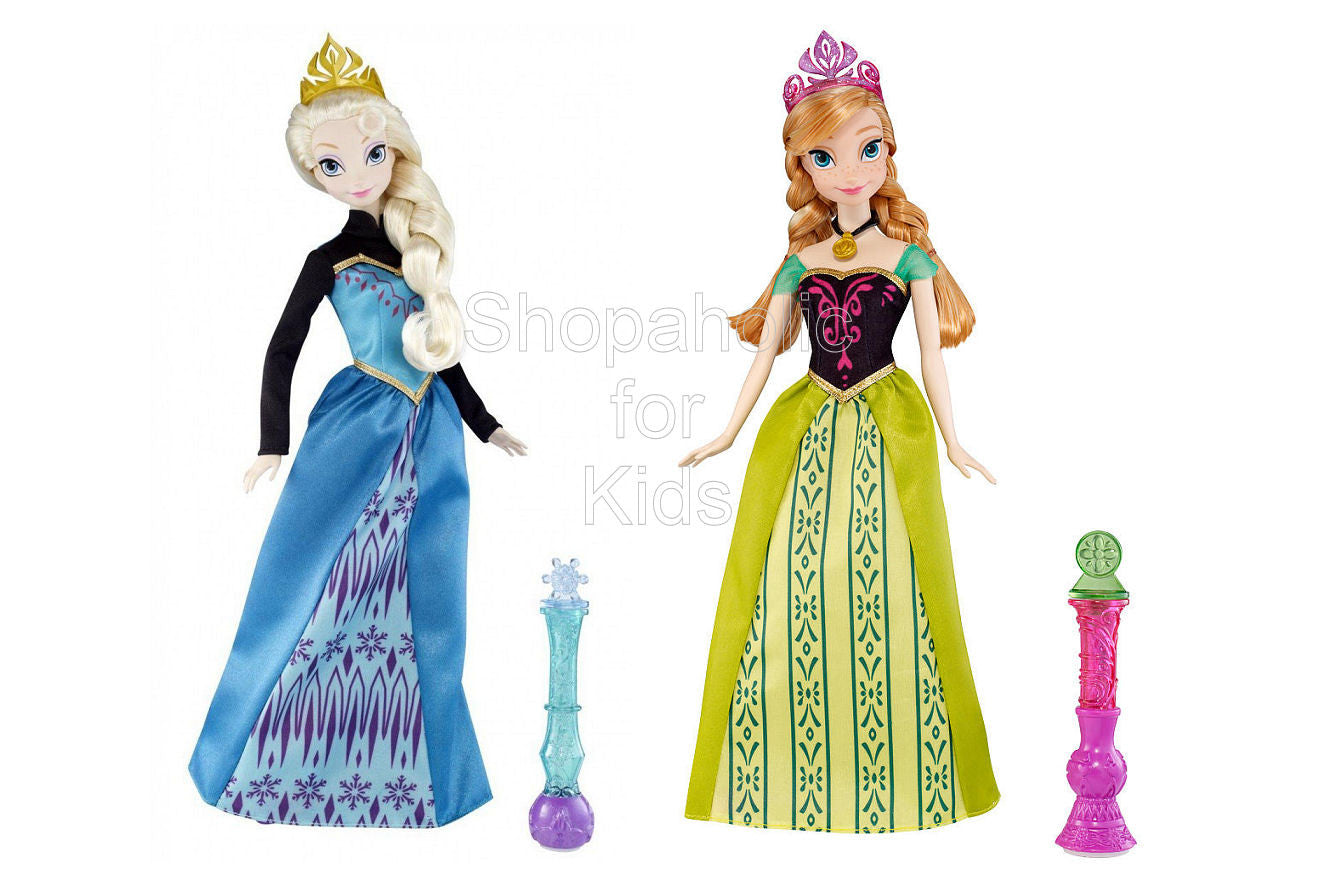 Disney Frozen Color Magic Fashion Doll - Elsa & Anna Set - Shopaholic for Kids