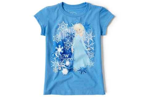 Disney Frozen Elsa Graphic Tee - Blue
