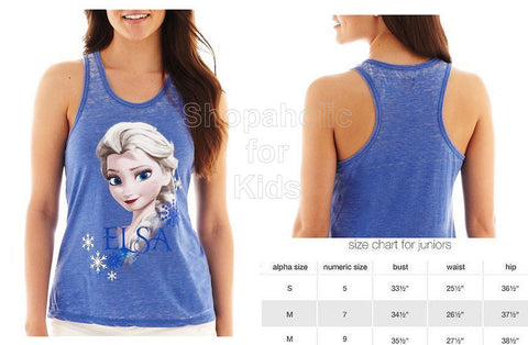 Disney Frozen Graphic Racerback Tank Top