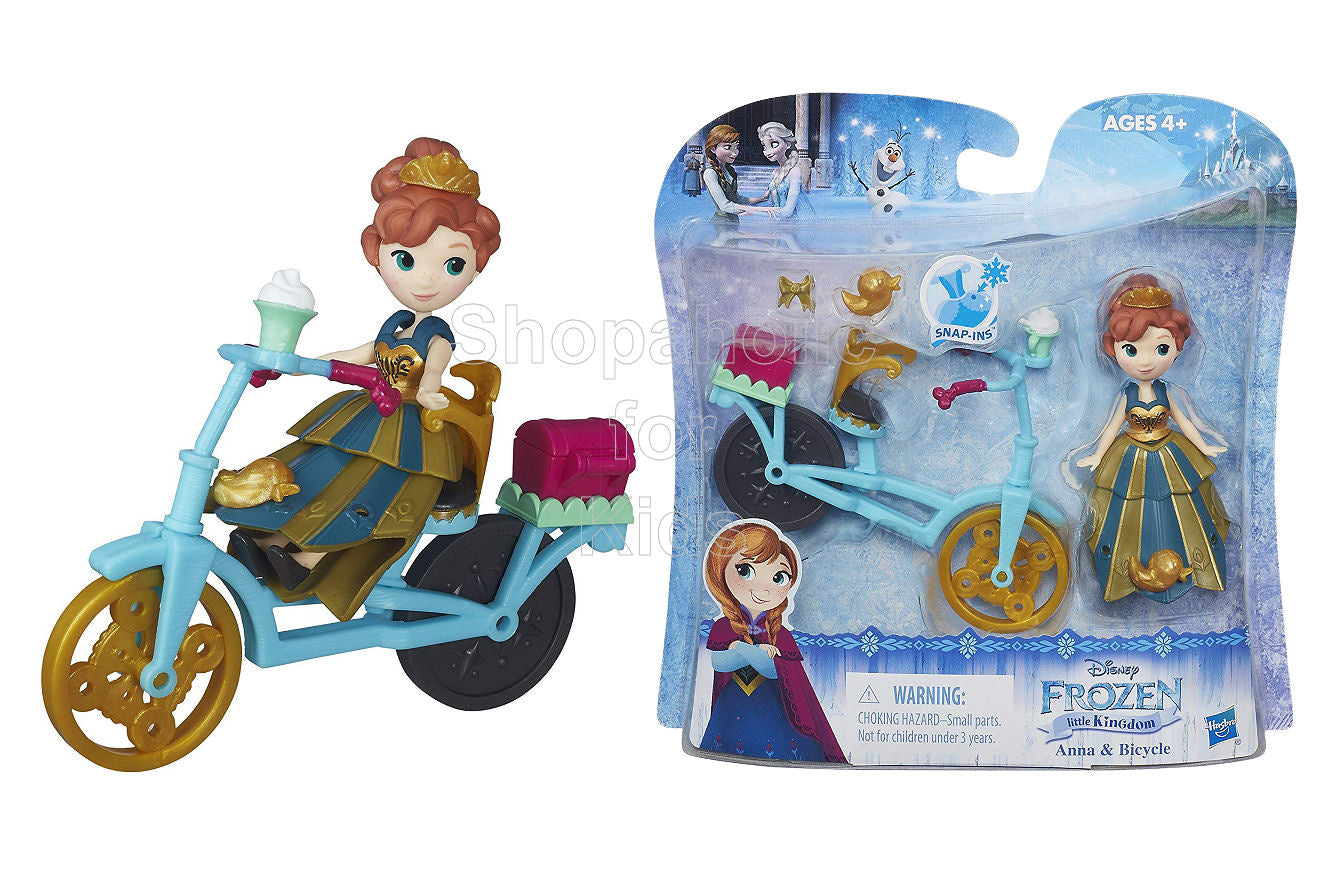 Disney Frozen Little Kingdom Anna and Bicycle - Shopaholic for Kids