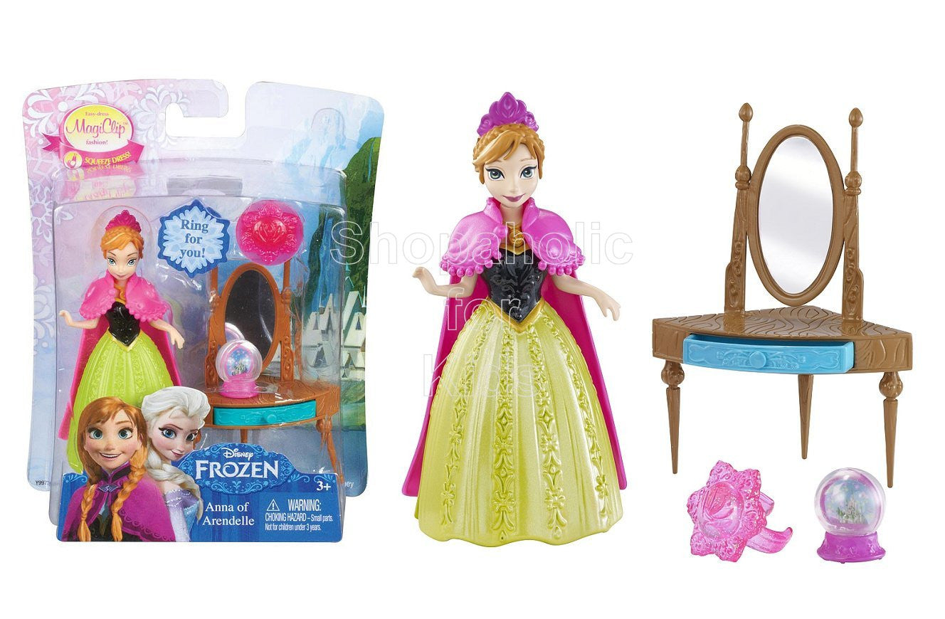 Disney Frozen Magiclip Small Doll - Anna of Arendelle