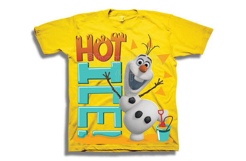 Disney Frozen Olaf the Snowman Hot Ice Tee