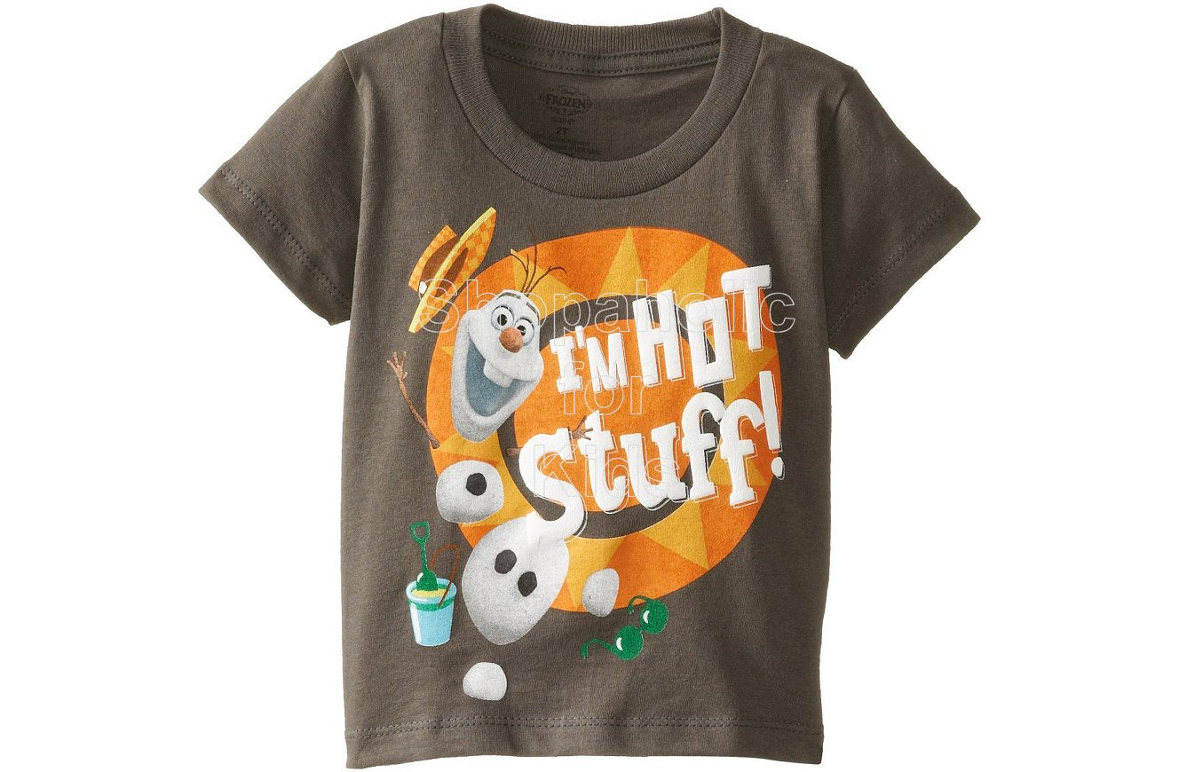 Disney Frozen Olaf the Snowman Hot Stuff Tee - Shopaholic for Kids