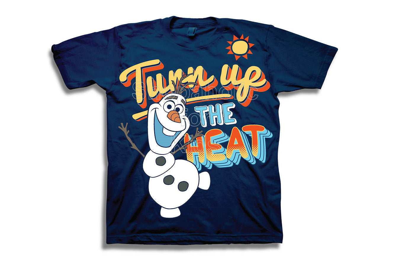 Disney Frozen Olaf the Snowman Turn up Heat Tee - Shopaholic for Kids