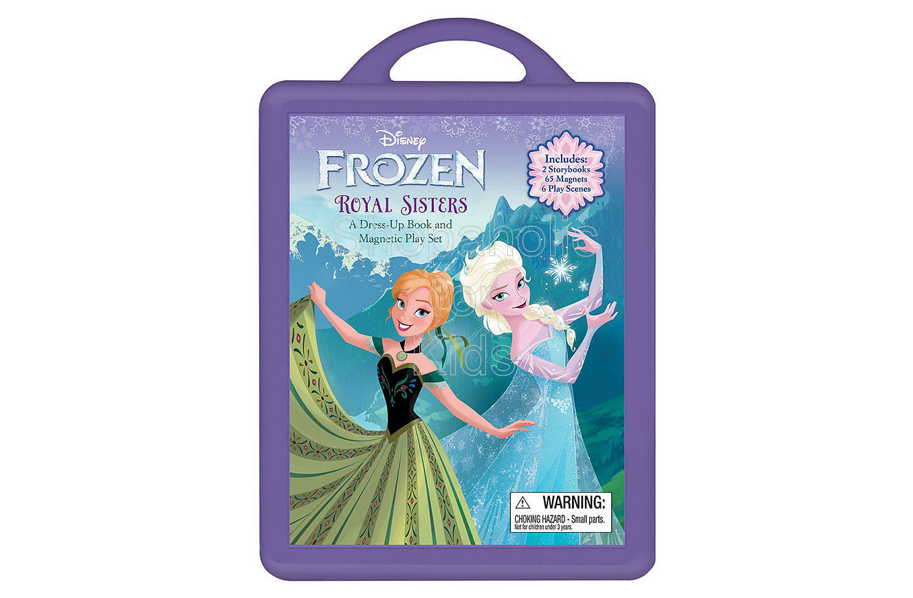 Frozen Book and Magnetic Play Set: A Dress-Up Book and Magnetic Play Set - Shopaholic for Kids