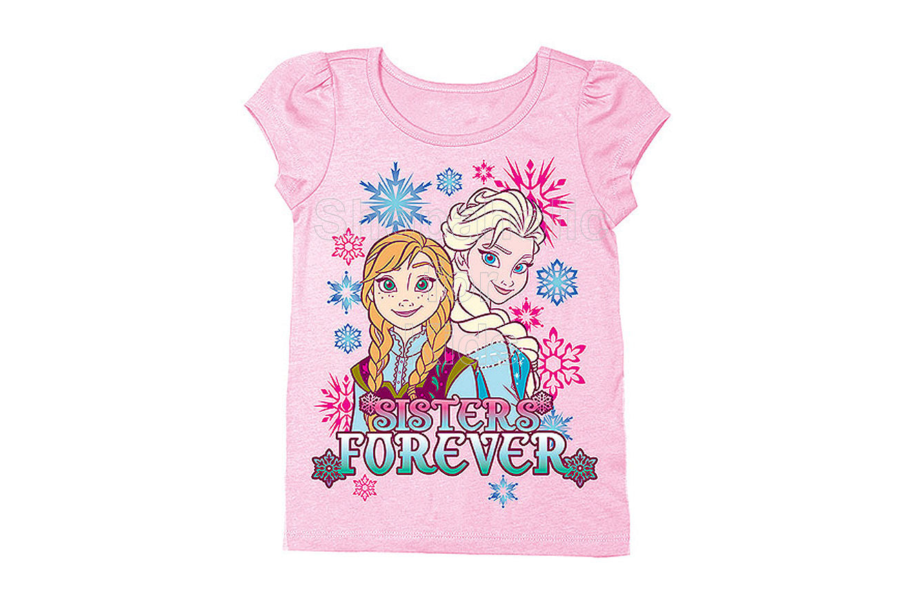 Disney Frozen Sisters Forever Tee