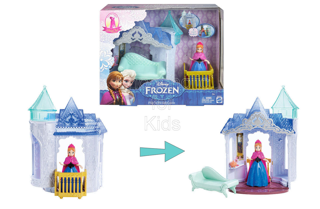 Disney Frozen Small Doll Anna and Palace Play Set - Shopaholic for Kids