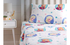 Disney Frozen Swirl Bed Sheet Set - Twin