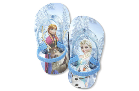 Disney Frozen Flip-Flops - Blue