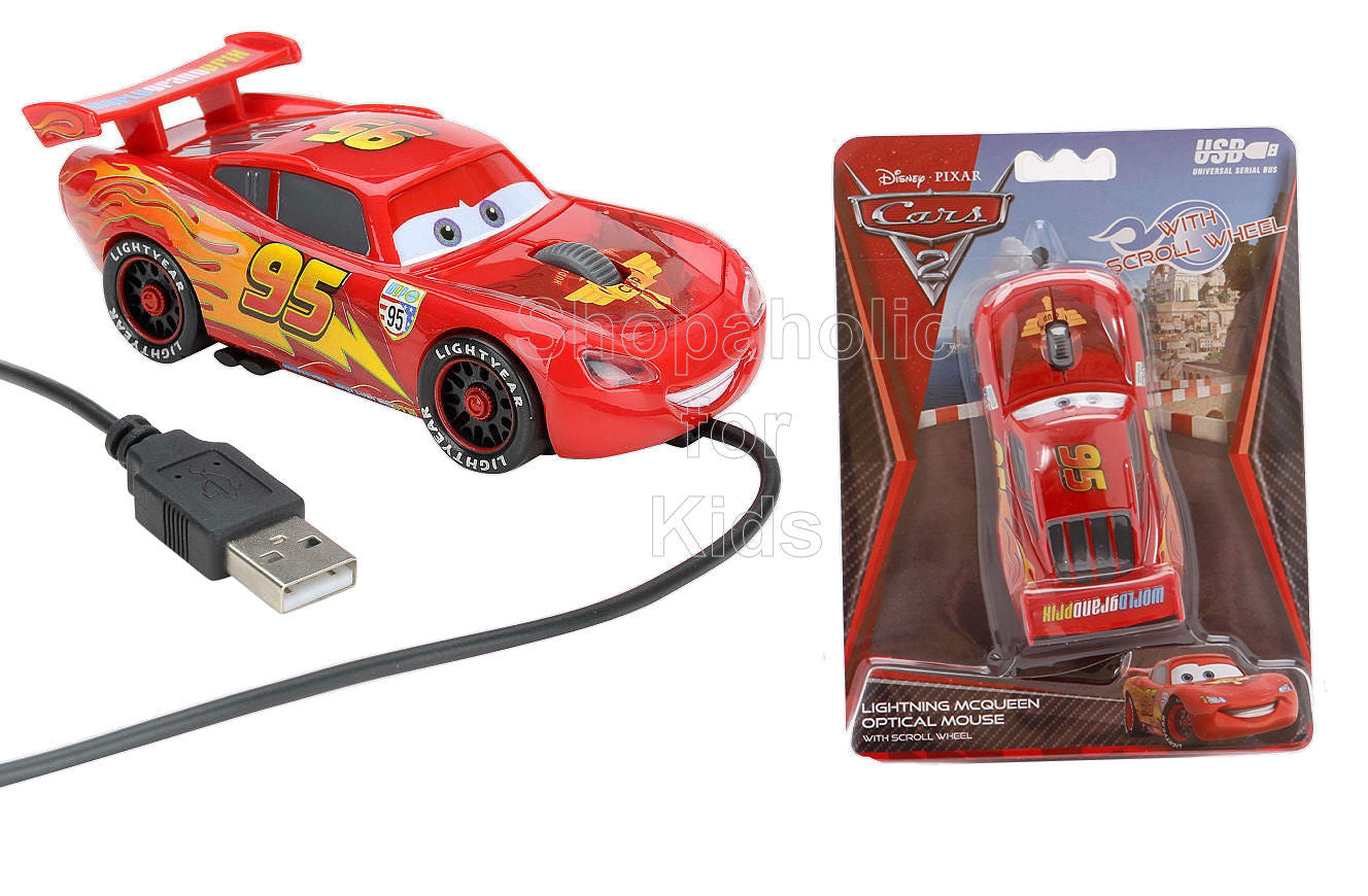 Disney Cars Optical Mouse - Shopaholic for Kids