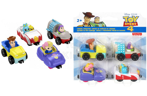 Fisher-Price Disney Pixar Toy Story Carnival Speedsters - Pack of 4