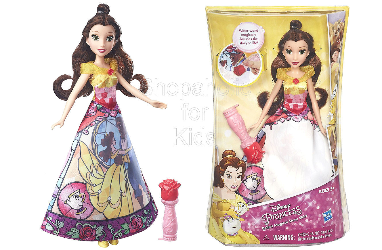 Disney Princess Belle's Magical Story Skirt - Shopaholic for Kids
