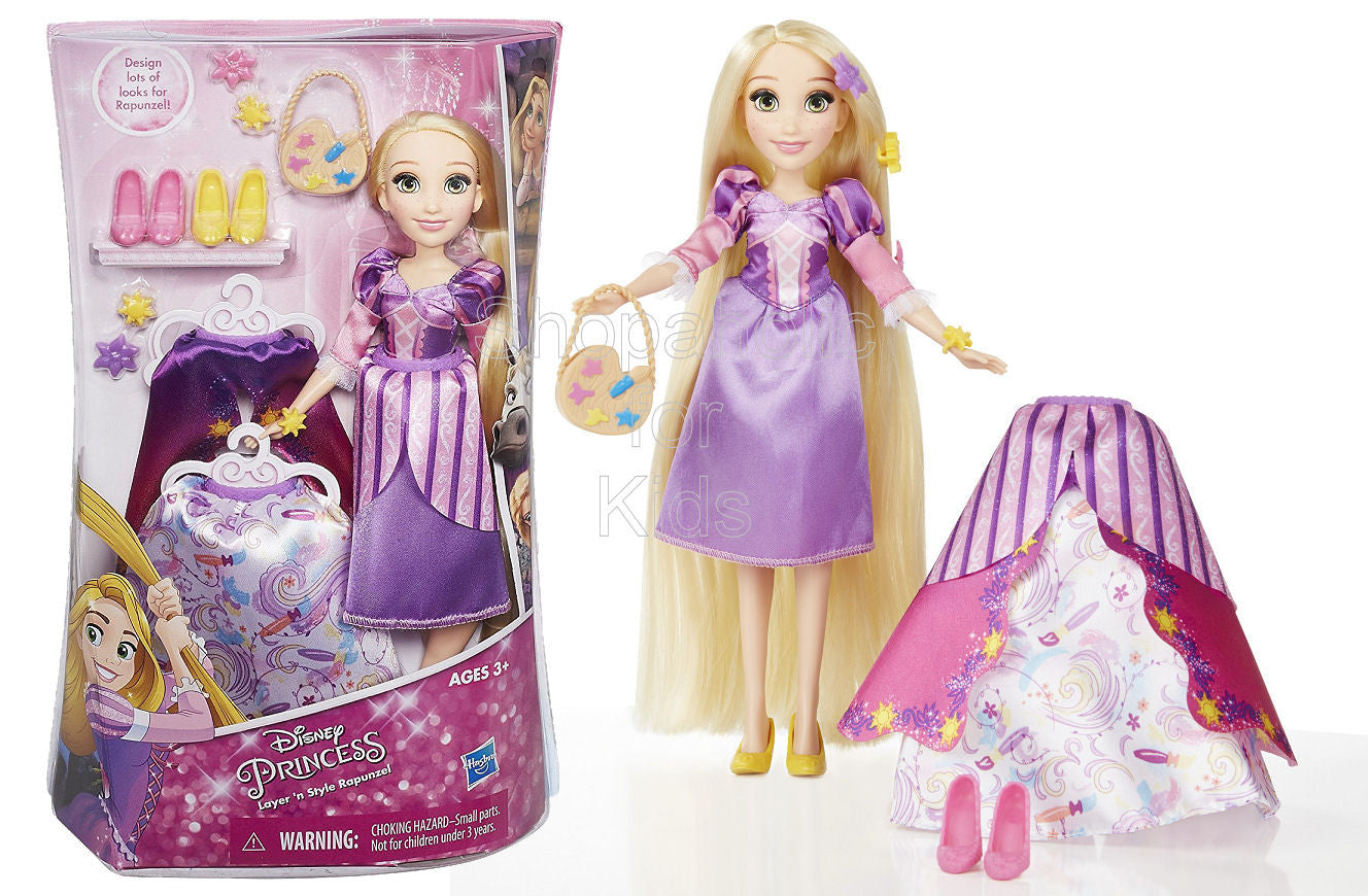 Disney Princess Layer 'n Style Rapunzel - Shopaholic for Kids