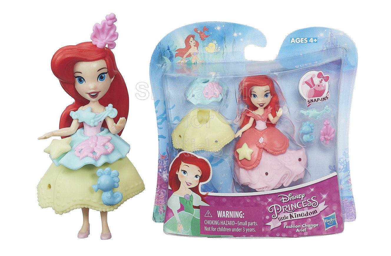 Disney Princess Little Kingdom Fashion Change Ariel - Shopaholic for Kids