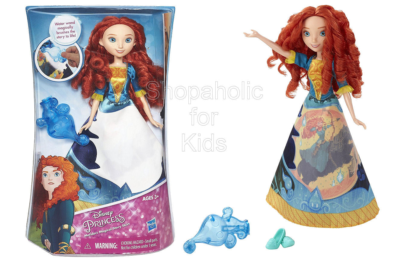 Disney Princess Merida's Magical Story Skirt - Shopaholic for Kids