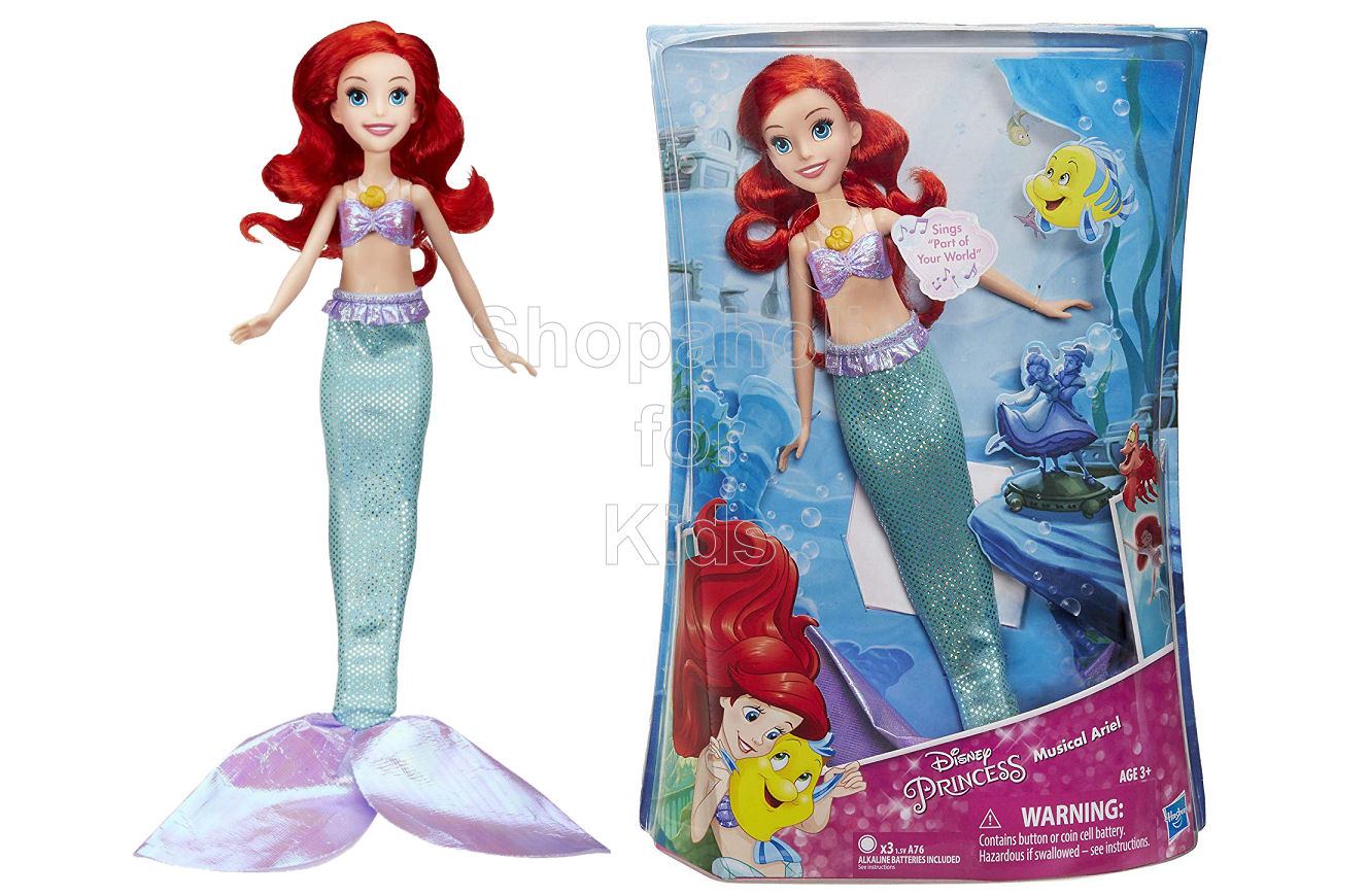 Disney Princess Musical Ariel Doll - Shopaholic for Kids