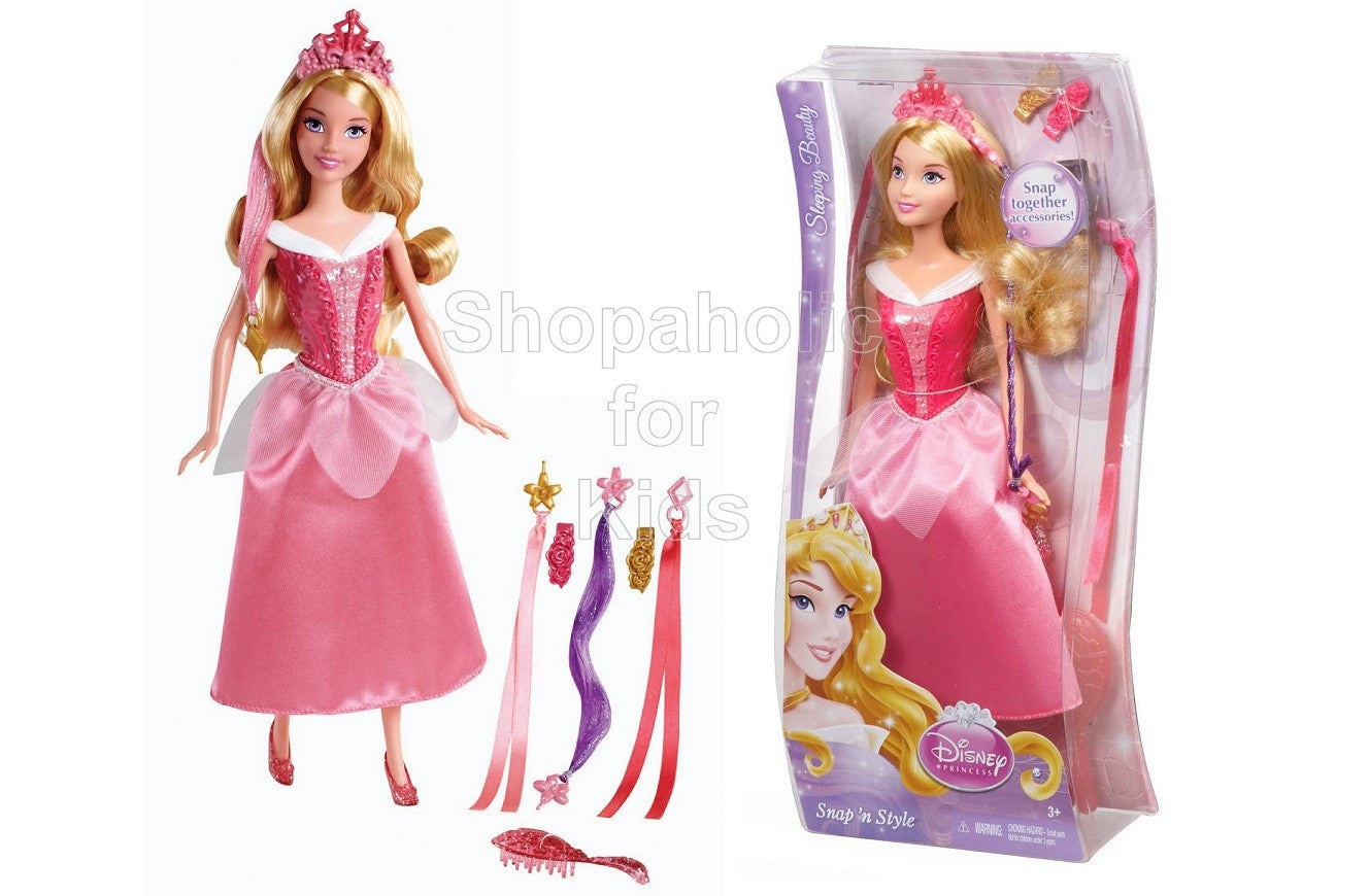 Disney Princess Snap 'n Style Sleeping Beauty Doll - Shopaholic for Kids