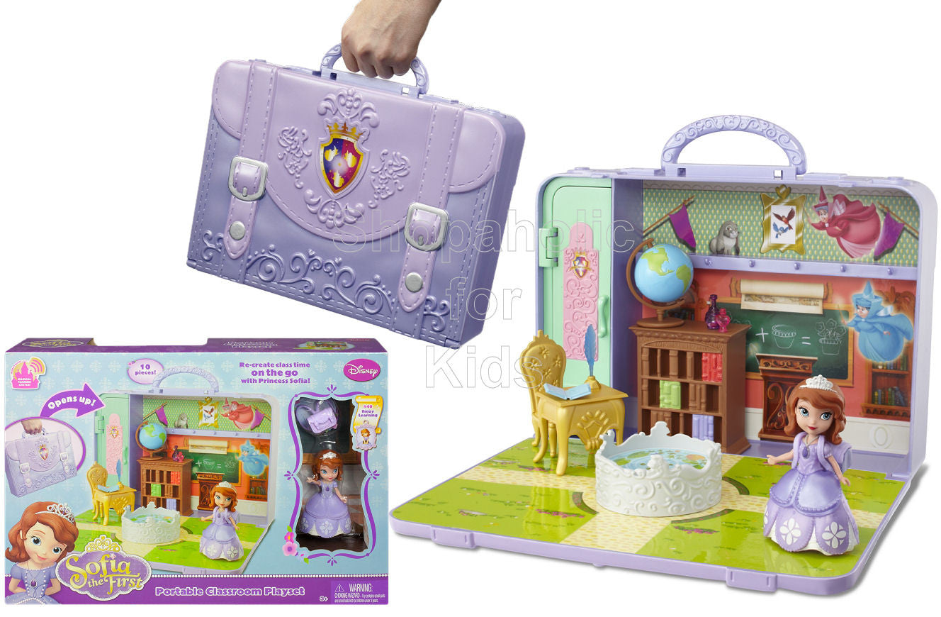 Disney Sofia the First Portable School Playset - Shopaholic for Kids