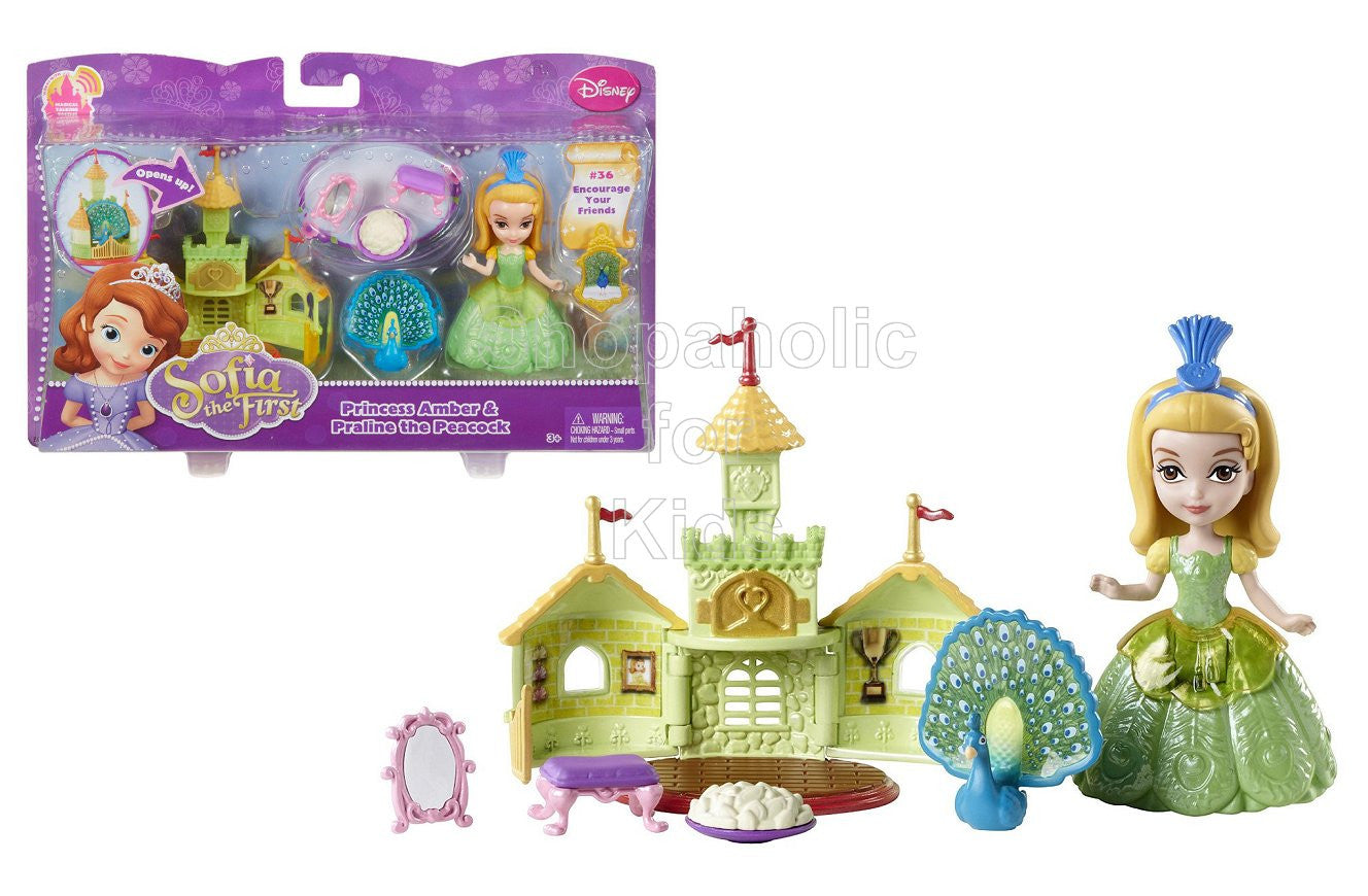 Disney Sofia the First - Amber Doll & Peacock - Shopaholic for Kids