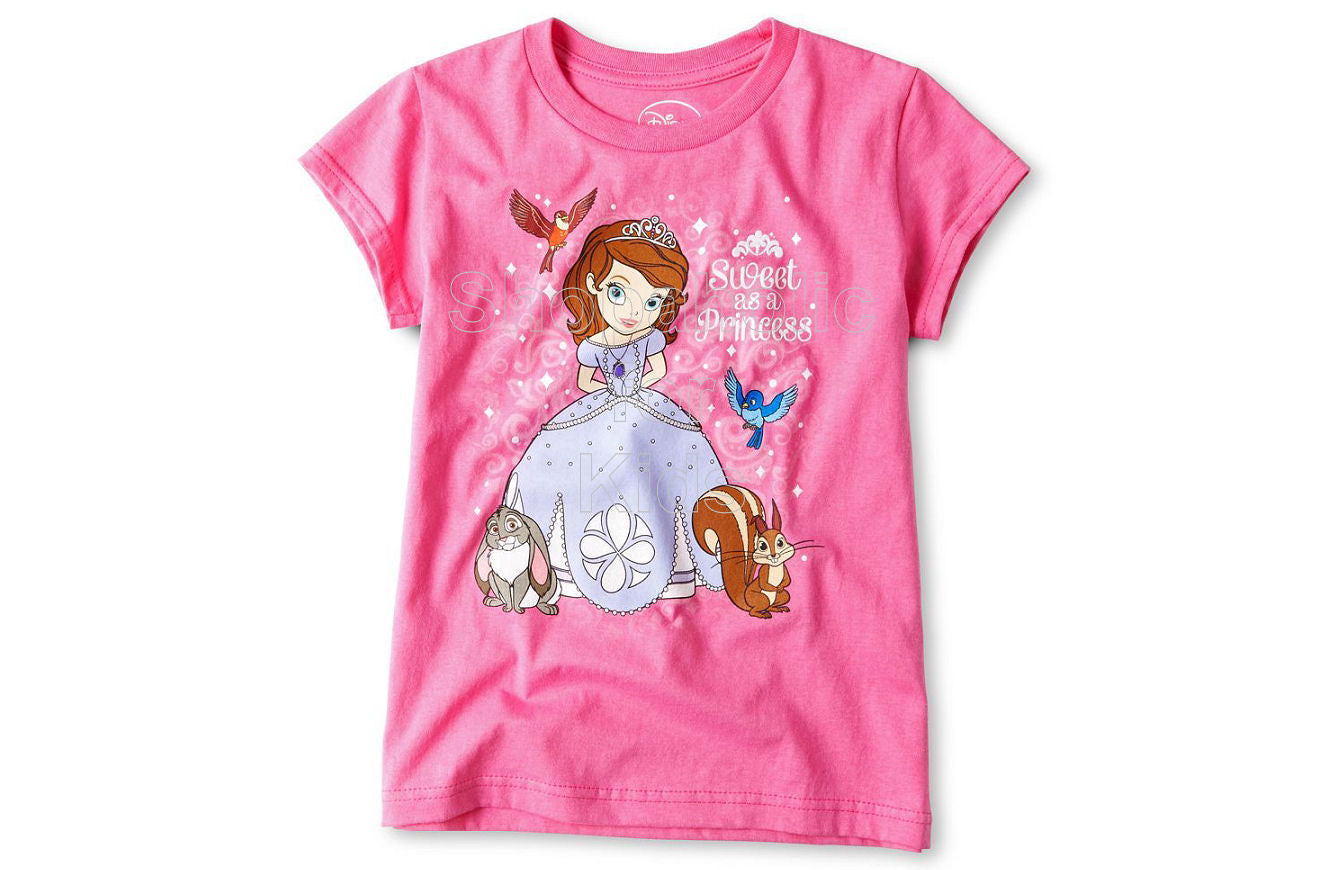 Disney Sweet Sofia Graphic Tee - Shopaholic for Kids