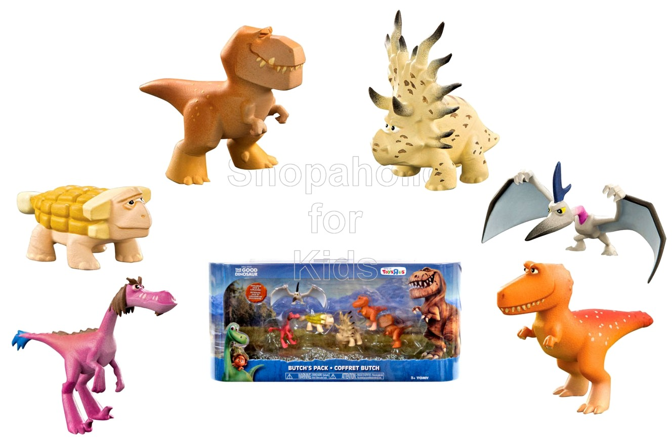 Disney The Good Dinosaur 6 Figure Set - Butch's Pack