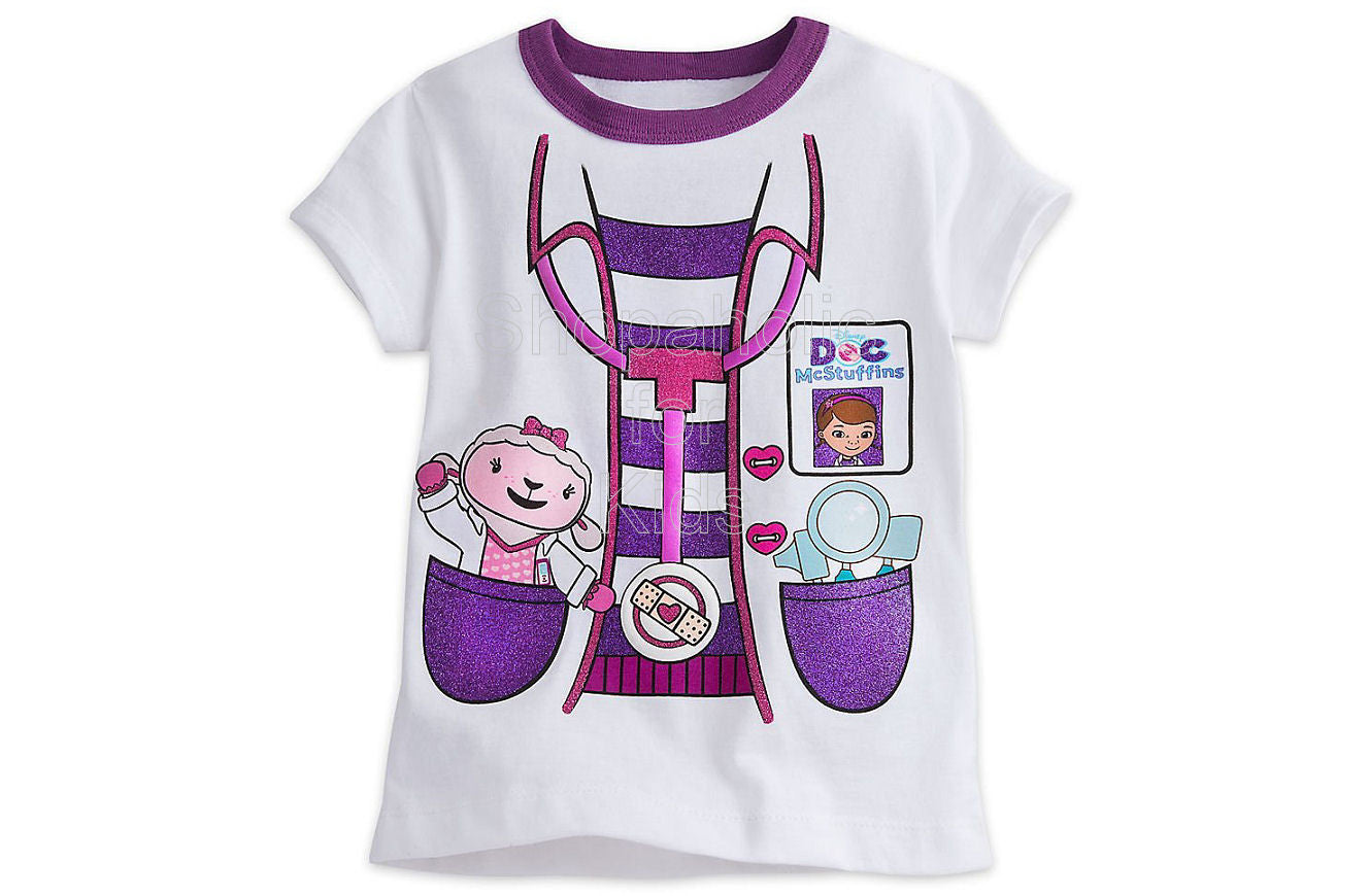 Disney Doc McStuffins Costume Tee with Lambie - Shopaholic for Kids