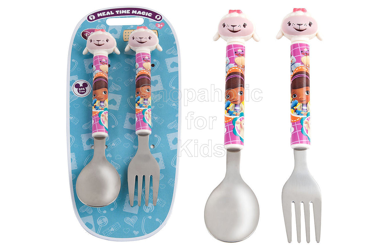 Disney Doc McStuffins - Lambie Flatware Set - Shopaholic for Kids