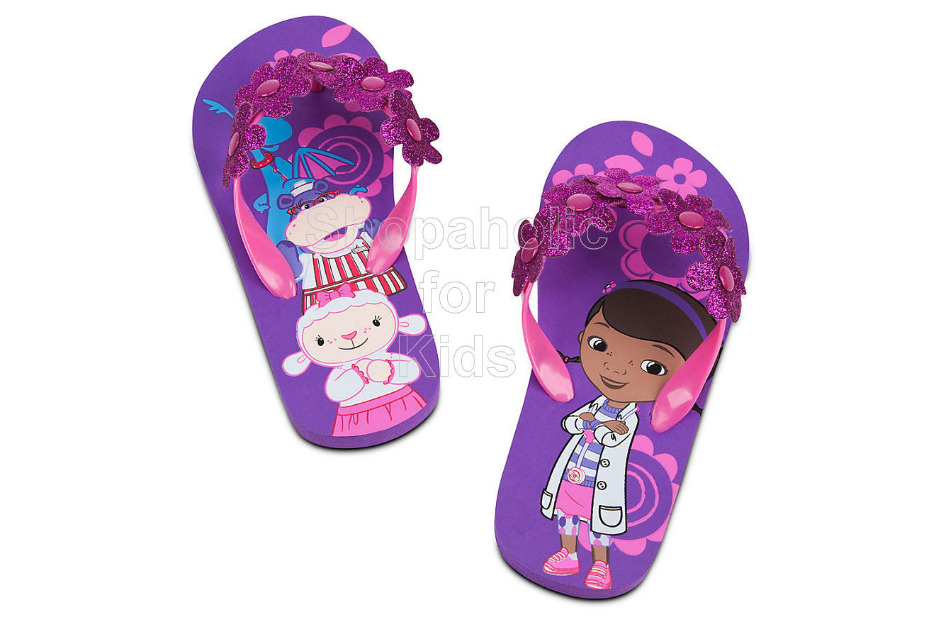 Doc McStuffins Flip Flops for Girls - Shopaholic for Kids