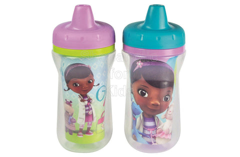 Doc McStuffins 9oz Insulated Sippy Cups - 2-Pack