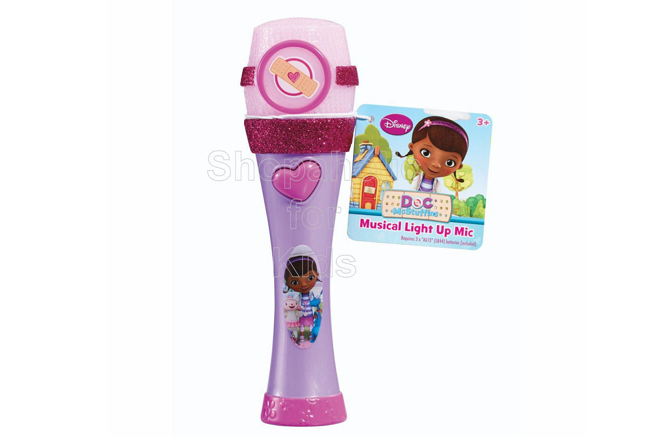 Disney Doc McStuffins Light-Up Microphone - Shopaholic for Kids