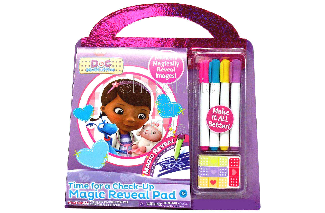 Doc McStuffins Time For A Checkup Magic Reveal Pad