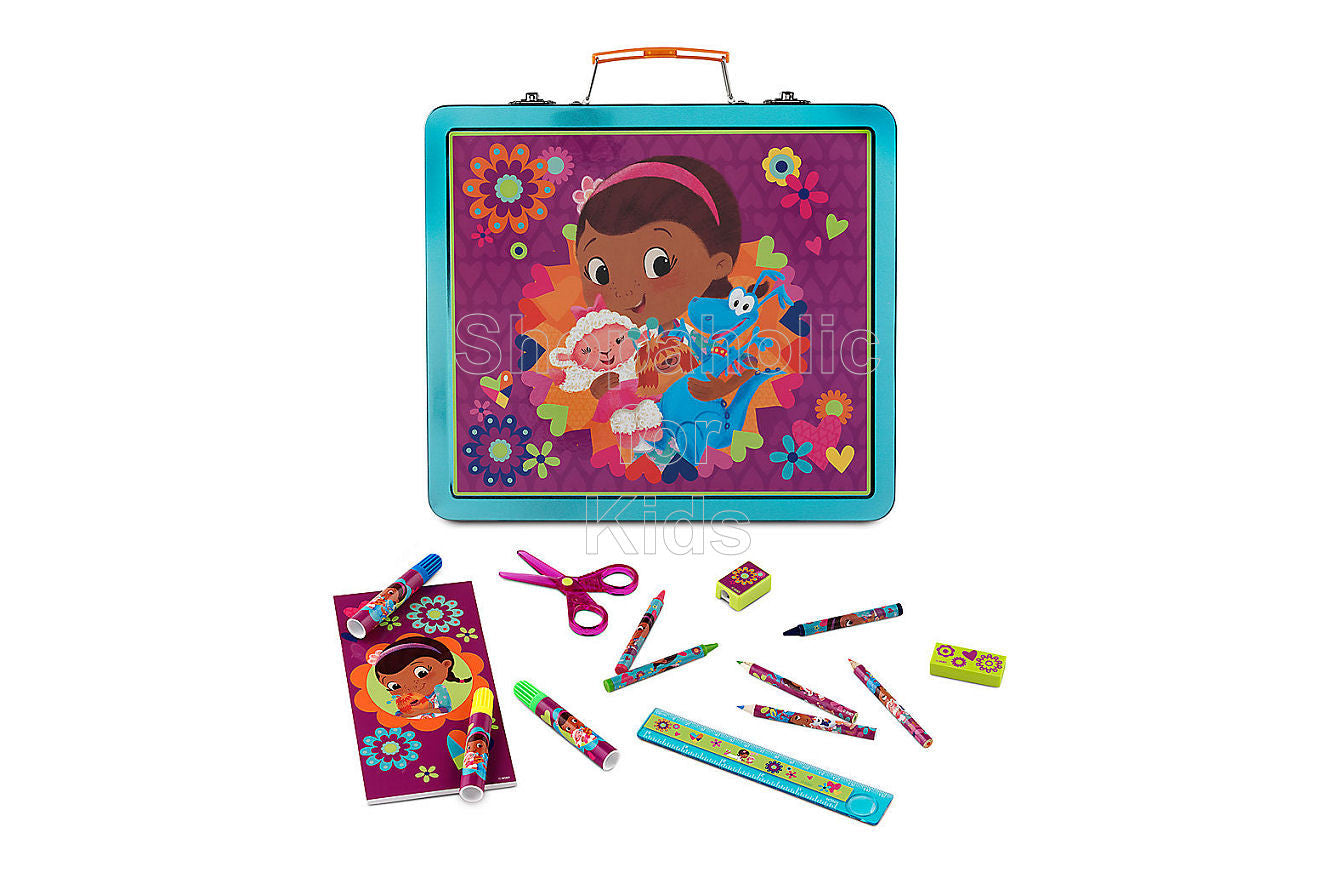 Disney Doc McStuffins Tin Art Case Set
