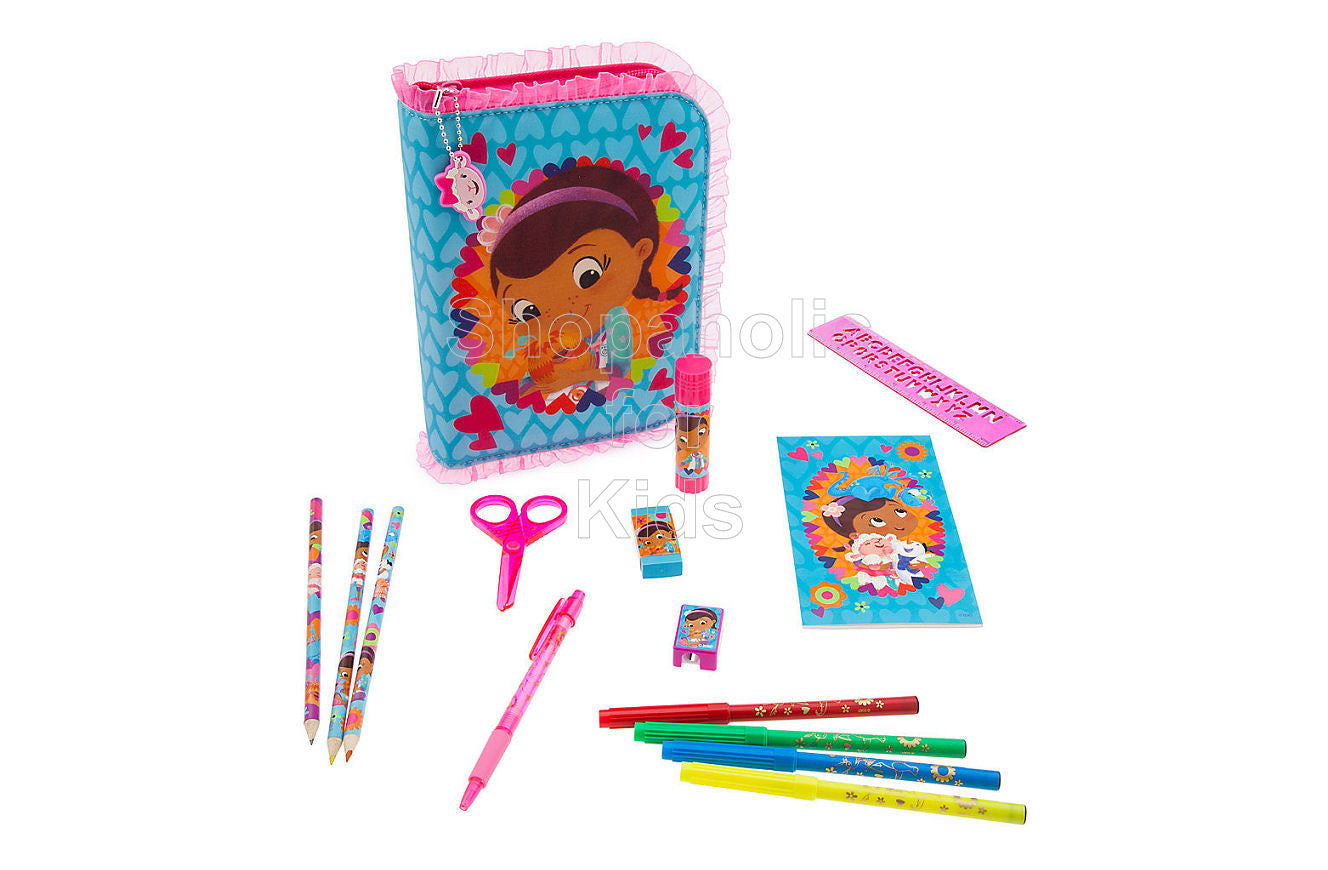 Disney Doc McStuffins Zip-Up Stationery Kit - Shopaholic for Kids