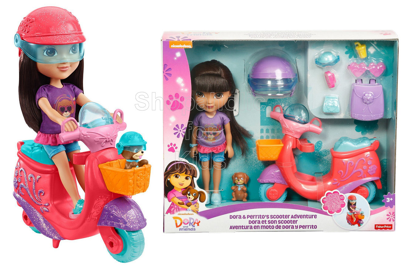 Dora and Friends Dora & Perrito's Scooter Adventure - Shopaholic for Kids