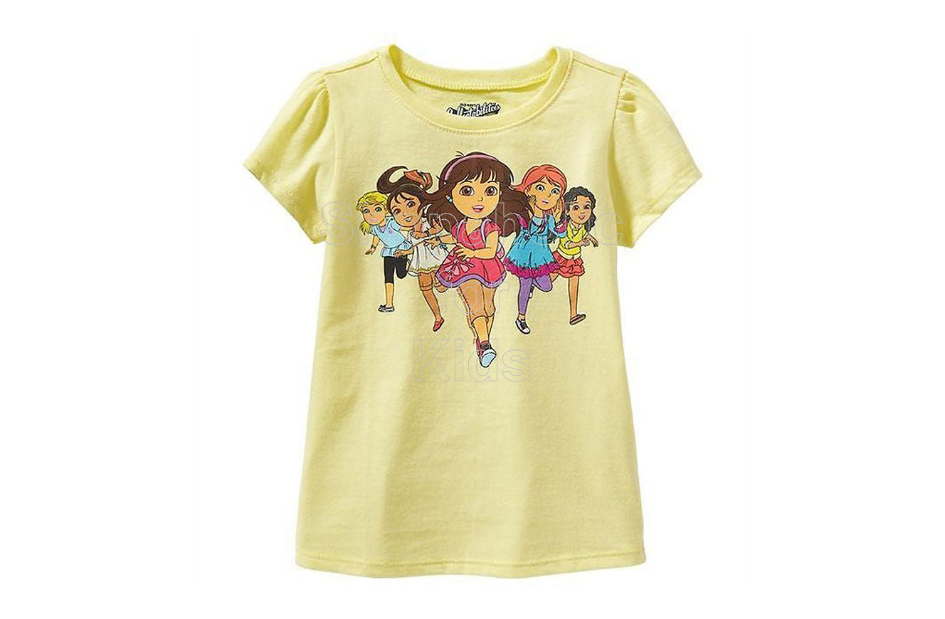 Old Navy Dora and Friends Into the City Tees - Shopaholic for Kids