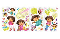 Dora the Explorer Peel & Stick Wall Decals / Wall Stickers - Shopaholic for Kids