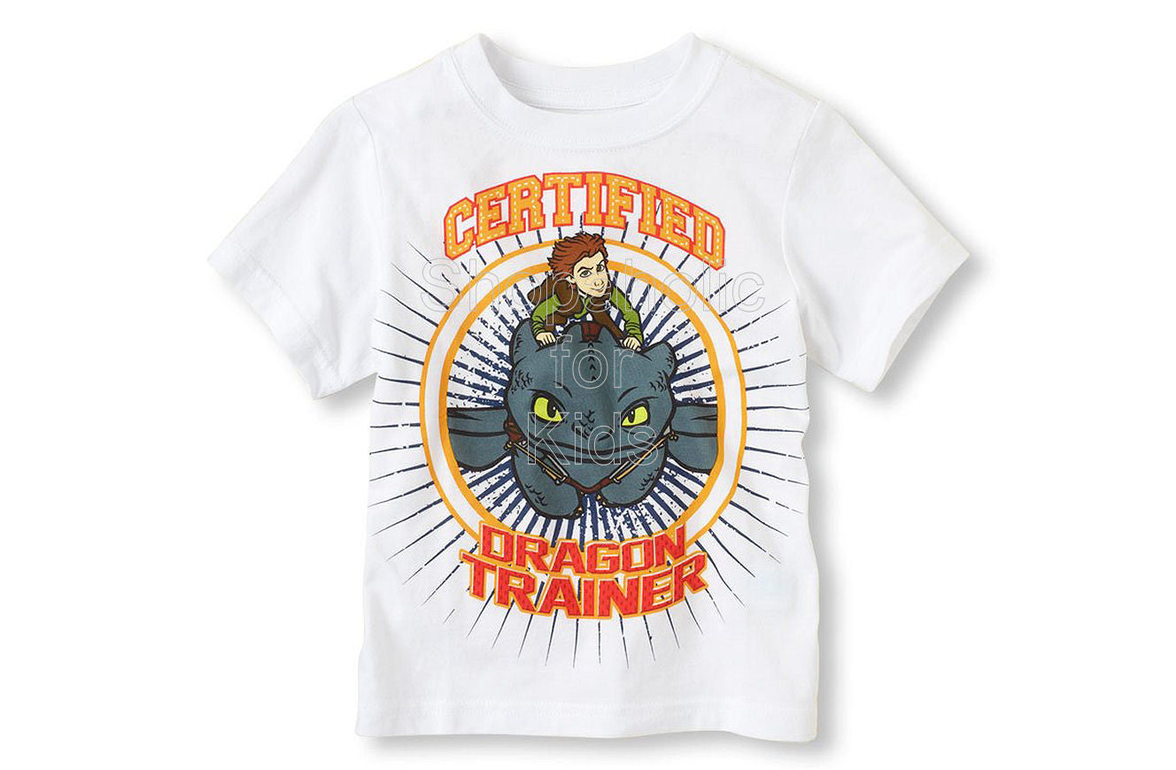 Children's Place Dragon Graphic Tee
