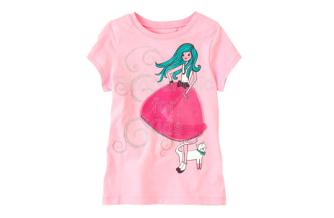 Children's Place Dress Girl Graphic Tee - Shopaholic for Kids